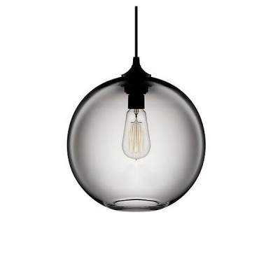 Lampa wisząca LOVE BOMB szara 25 cm