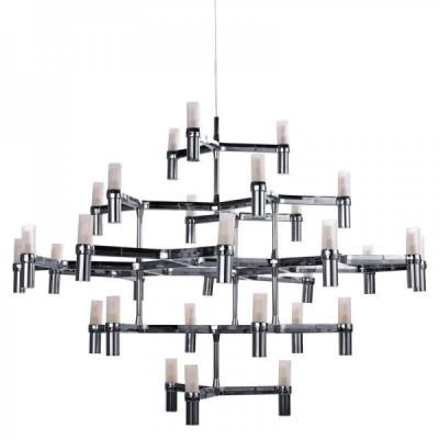 Lampa wisząca CANDLES-30 chrom 120 cm