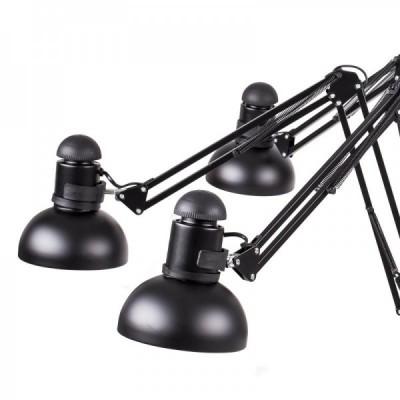 Lampa wisząca SPIDER-16 czarna 90 - 215 cm