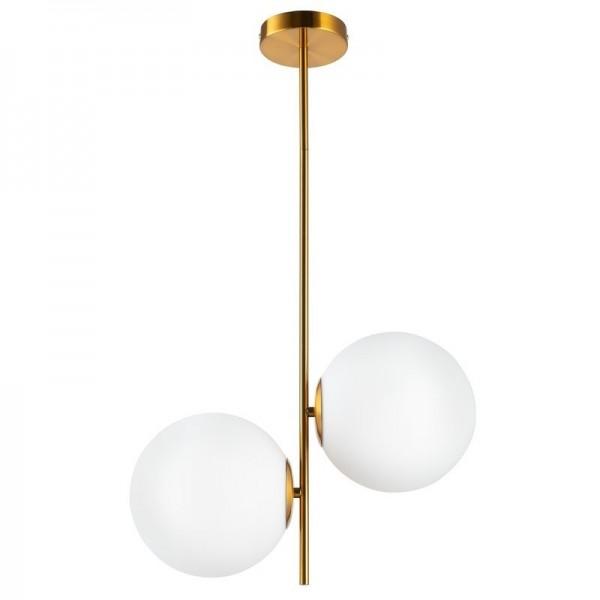 Lampa wisząca VENUS-2 mosiądz 44 cm
