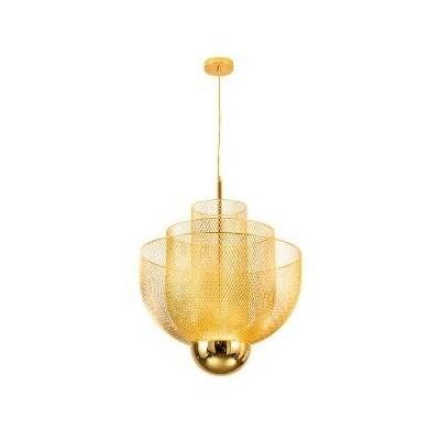 Lampa wisząca LED MESH GOLD 60cm