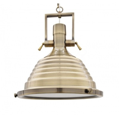 LAMPA WISZĄCA LOFT MOSIĘŻNA BRAGGI