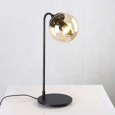 Lampa stojąca ASTRIFERO-1 czarna 43 cm