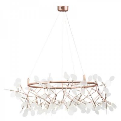 Lampa wisząca ledowa CHIC BOTANIC L miedziana 105 cm