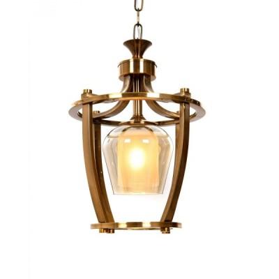 LAMPA WISZĄCA LOFT MOSIĘŻNA BROOKLYN W1