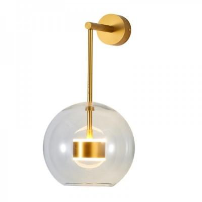 Lampa ścienna BUBBLES -1W LED złota 3000 K