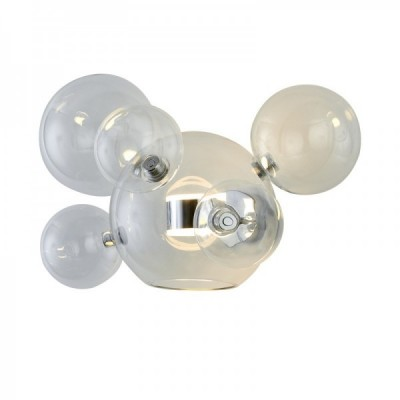 Lampa ścienna BUBBLES -5+1W LED chrom 3000 K