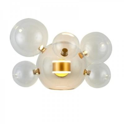 Lampa ścienna BUBBLES -5+1W LED złota 3000 K