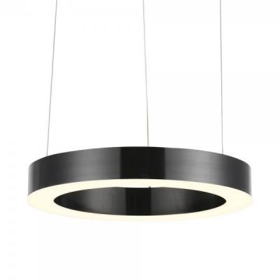 Lampa wisząca CIRCLE 40 LED czarna 40 cm