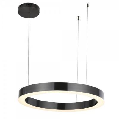 Lampa wisząca CIRCLE 60 LED czarna 60 cm