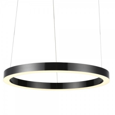 Lampa wisząca CIRCLE 100 LED czarny 100 cm