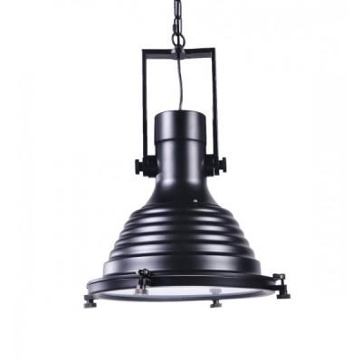 LOFT INDUSTRIALNA LAMPA BOTTI BLACK