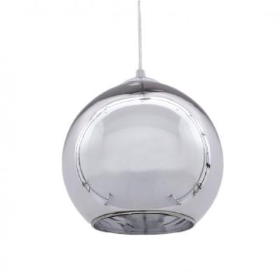 NOWOCZESNA LAMPA WISZĄCA CHROMOWANA LOBOS