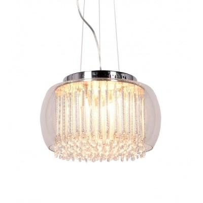 LAMPA WISZĄCA NOWOCZESNA GUSTO D40 CLEAR
