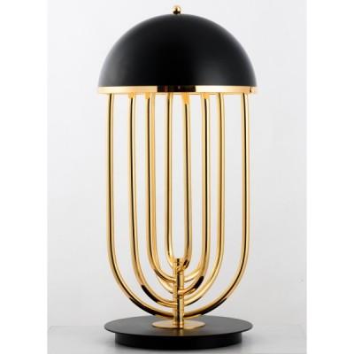 Lampa stołowa DOLCE VITA czarno - złota