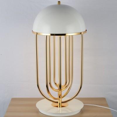 Lampa stołowa DOLCE VITA biało - złota